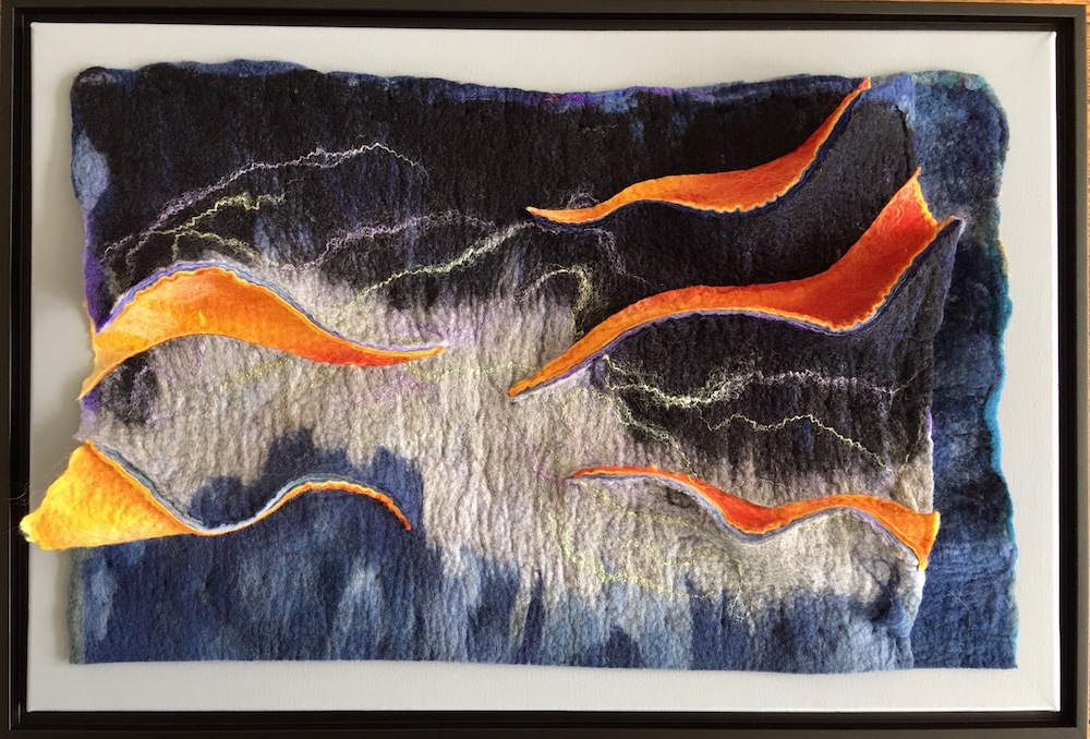 Pine Hill Gap Framed Felt Artwork